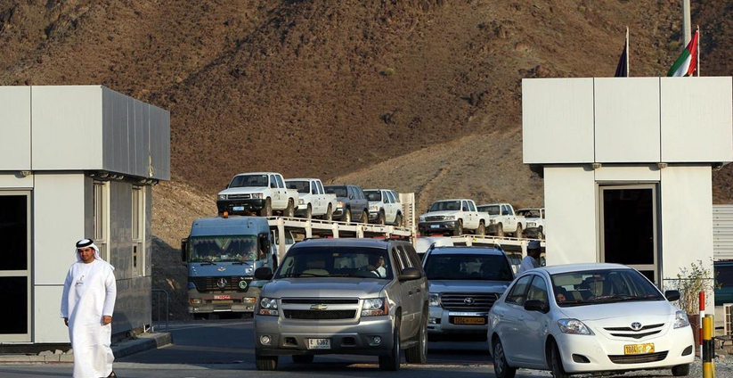 oman,road,borders,today