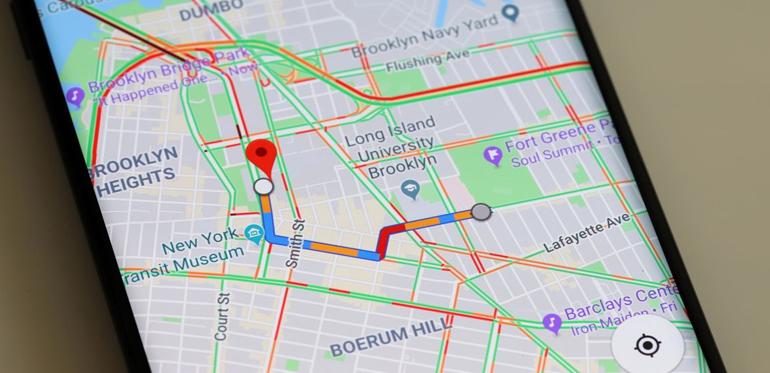 google,map,reach,destination,note