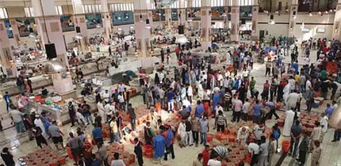 kuwait,fish,market,resume,auction