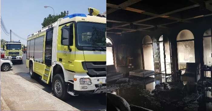 oman-house-fire-lady-house-fire-muscat-governorate