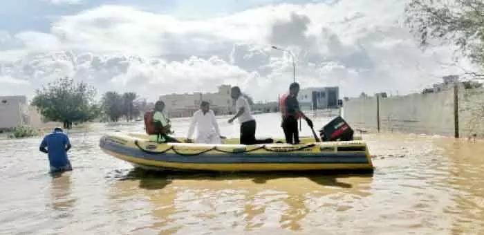 oman,rainfall,surkaran,water,supply,reestablished