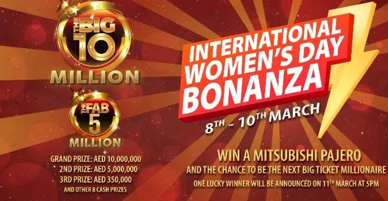 womensday,bonanza,bigticket,international