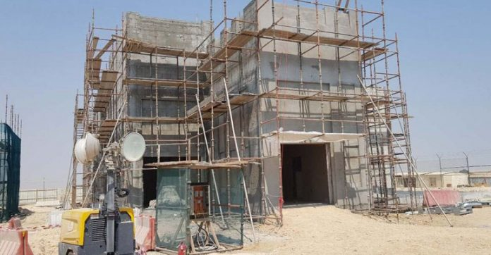 qatar,building,two,huge,veterinary,quarantine,facilities