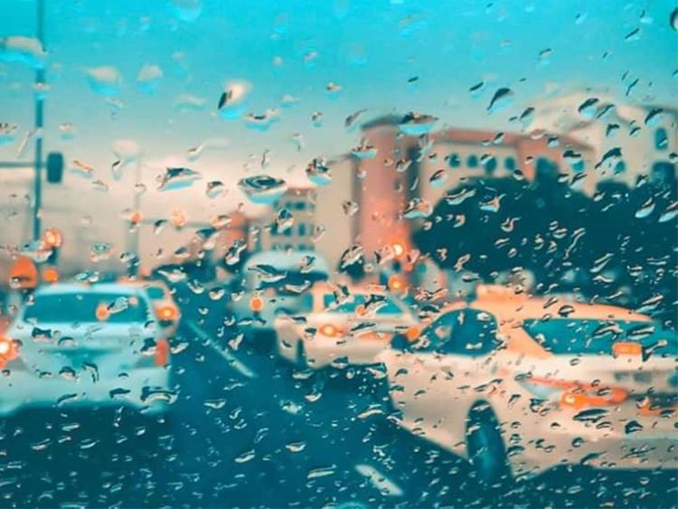winter,season,rain,temperature,drops,uae