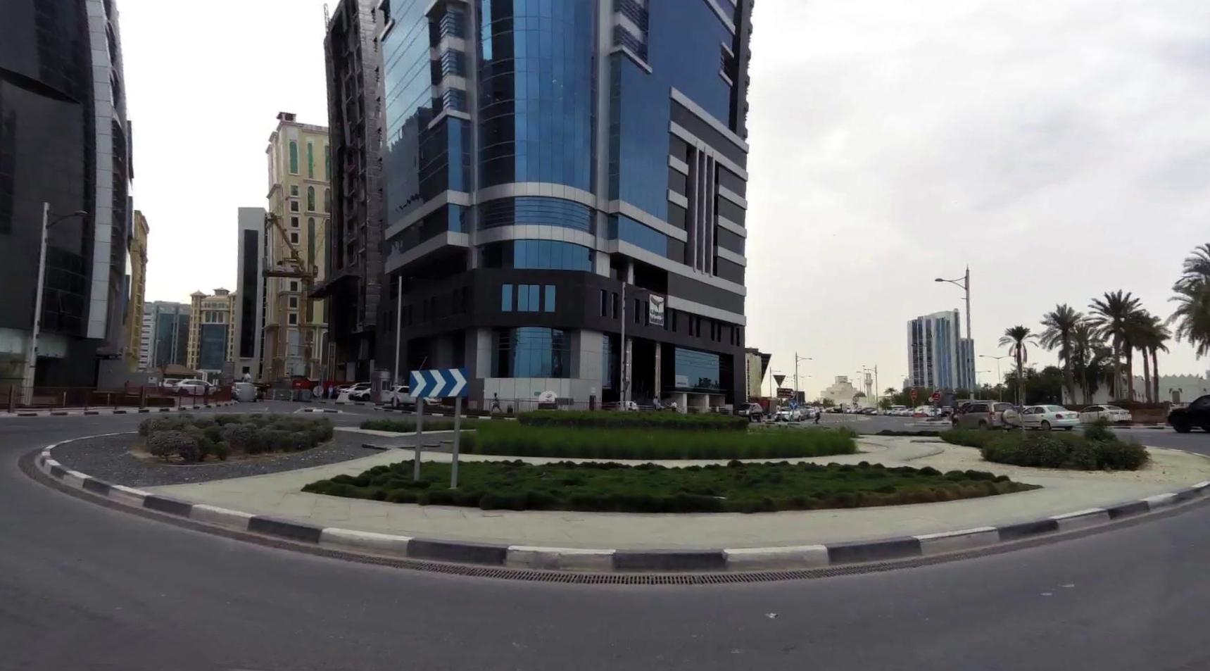 closes,road,between,museum,park,qatar
