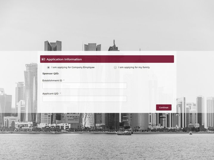 qatar,entry,permit,print,out,procedures