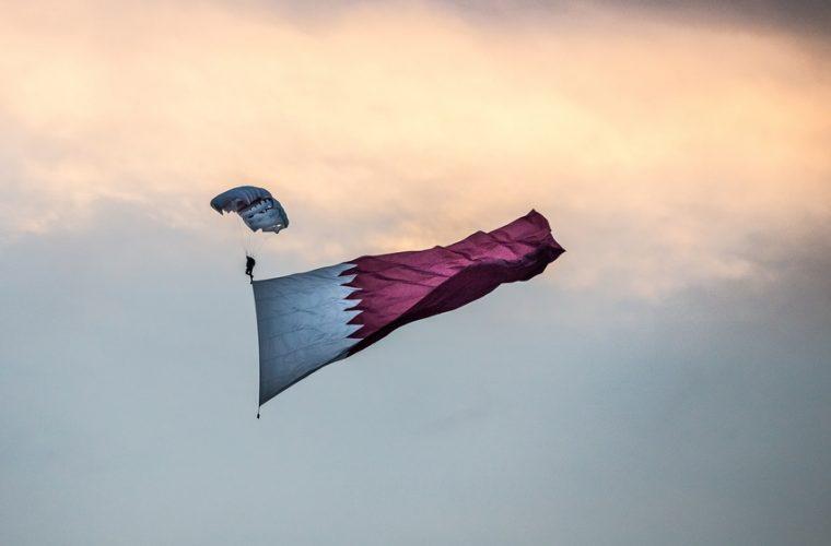 qatar,published,slogan,nationa,day,celebration