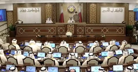 qatar,amir,inaugurates,ordinary,session,shura,council