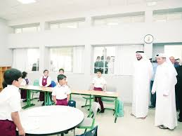 qatar,rotational,learning,system,schools