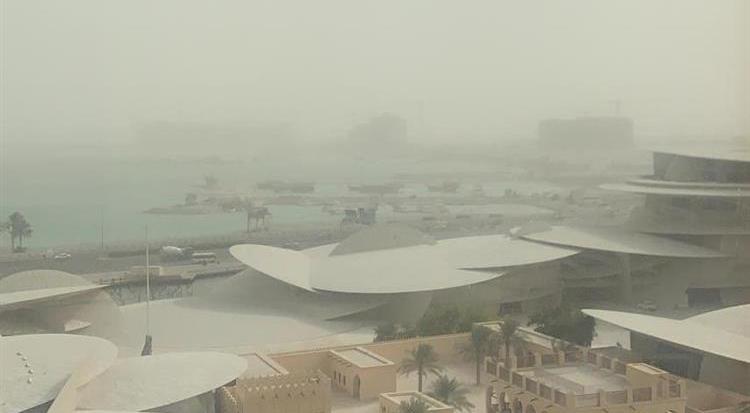 sandstorm,blurs,doha,skyline,visibility