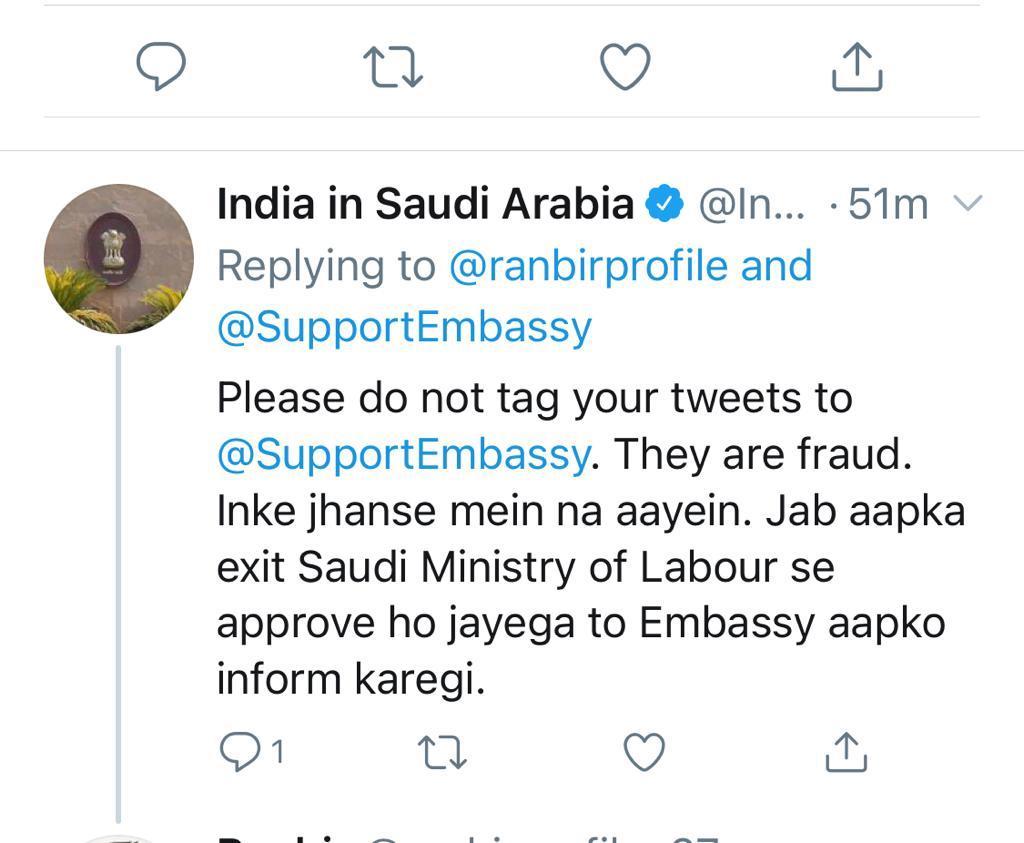 saudi,embassy,fake,twitter